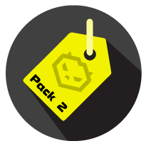 Pack 2 Icon