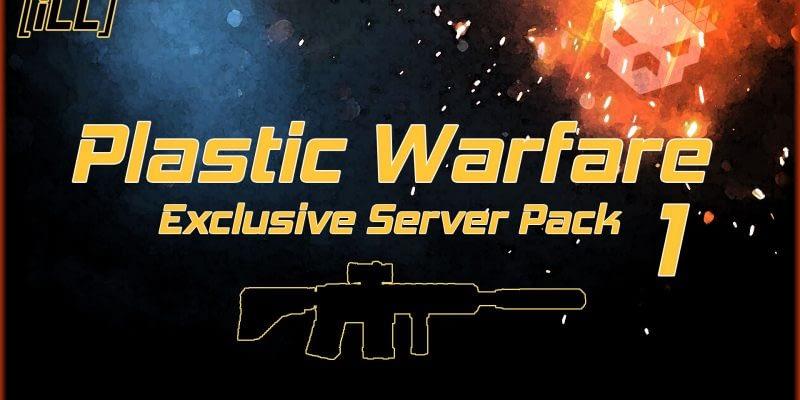 Plastic Warfare Modern pack 1